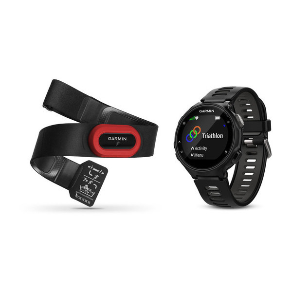 Garmin Forerunner 735XT Run Bundle black grey (010-01614-15) e292ece6f0b