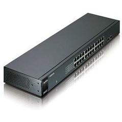 ZYXEL SWITCH GS-1100-24E, 24 PORTS 10/100/1000Mbps, ENTERPRISE LAN SWITCH, RACKMOUNT, 2YW.