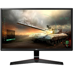 "LG MONITOR 27MP59G-P, LCD TFT IPS LED, 27"", 16:9, 250 CD/M2, 5.000.000:1, 1MS, 1920x1080, 15PIN DSUB/HDMI/DISPLAY PORT/HP OUT, 2YW & 0 PIXEL."