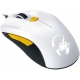 GENIUS MOUSE SCORPION M6-600, WIRED, USB, OPTICAL, GAMING, WHITE/ORANGE, 2YW.